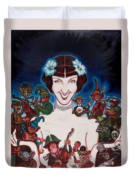 Janet Klein Duvet Cover