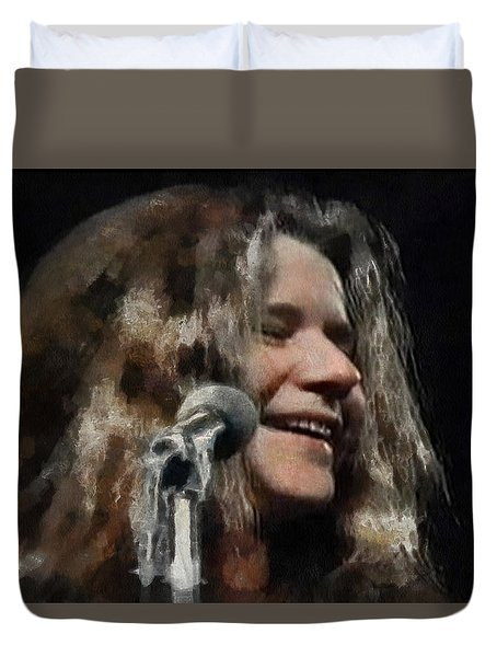 Janis Duvet Cover by Sergey Lukashin