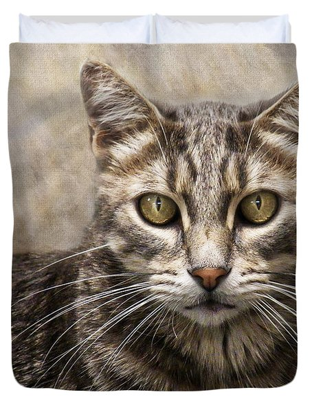 Janie's Kitty Duvet Cover