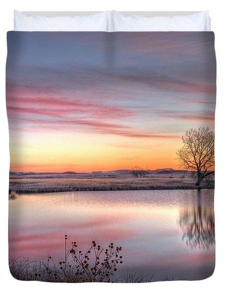 January Dawn Duvet Cover