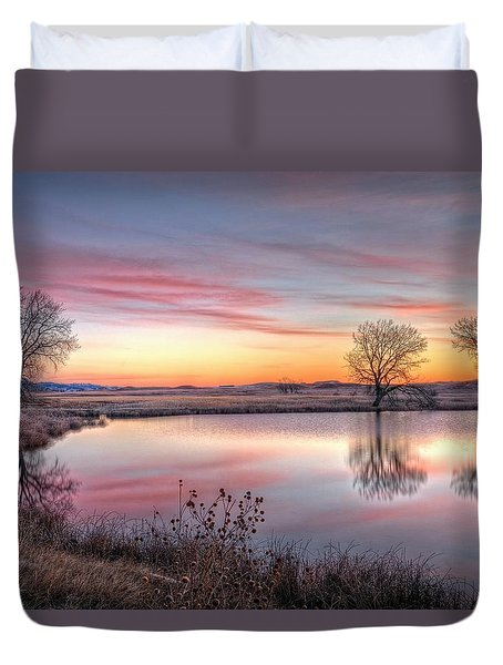 January Dawn Duvet Cover