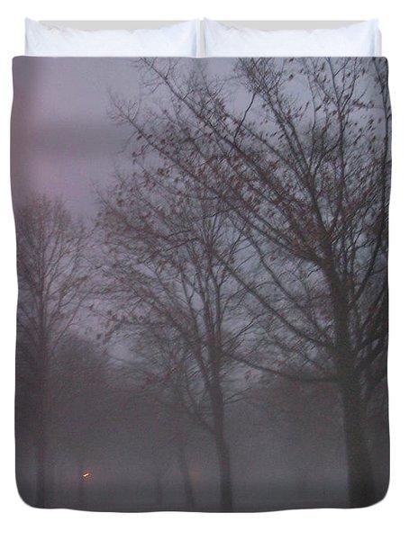 January Fog 3 Duvet Cover