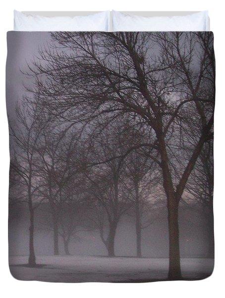 January Fog 4 Duvet Cover