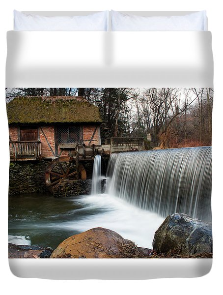 January Morning At Gomez Mill #2 Duvet Cover by Jeff Severson