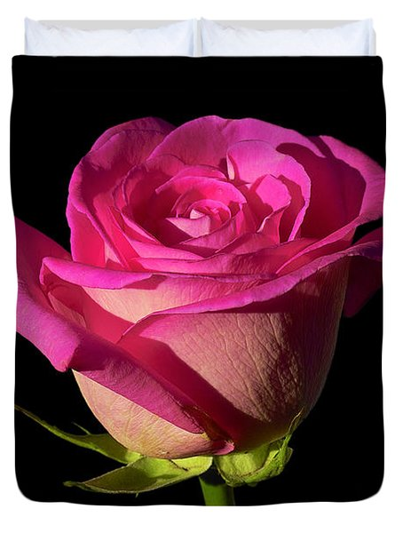 January Rose Duvet Cover
