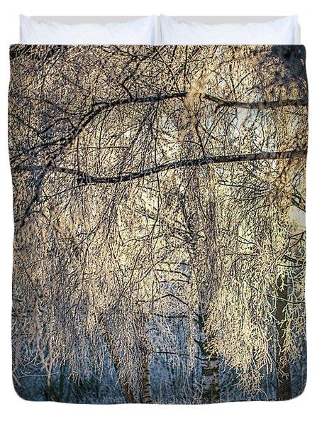January,1-st, 14.35 #h4 Duvet Cover