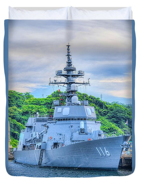 Japan Navy Ship Dd-116 Teruzuki Duvet Cover