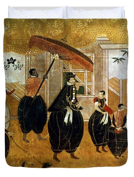 Japan: St. Francis Xavier Duvet Cover