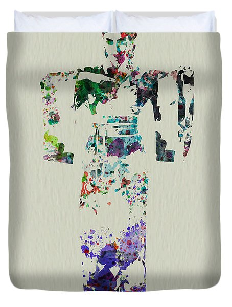 Japanese Dance Duvet Cover by Naxart Studio
