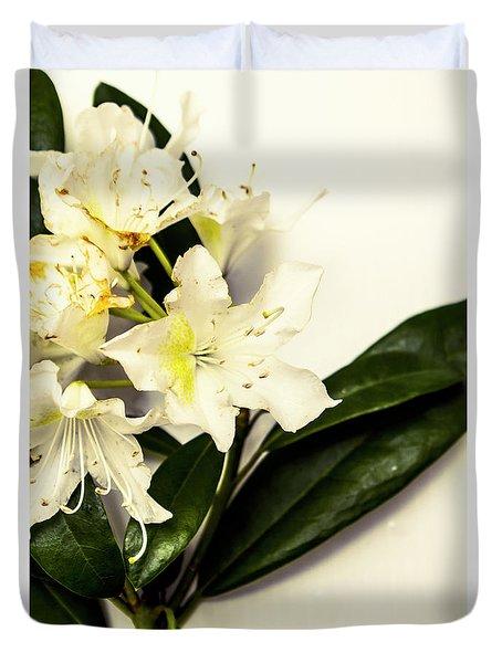 Japanese Flower Art Duvet Cover