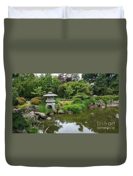 Japanese Garden -2. Duvet Cover