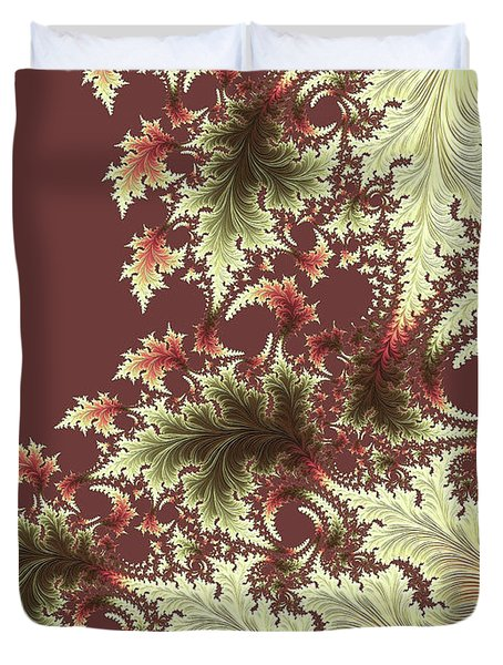 Japanese Garden Il Duvet Cover by Susan Maxwell Schmidt