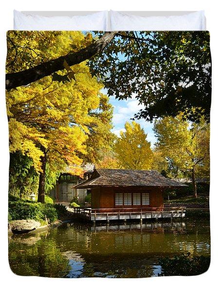 Japanese Gardens 2541a Duvet Cover