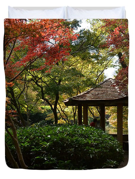 Japanese Gardens 2577 Duvet Cover