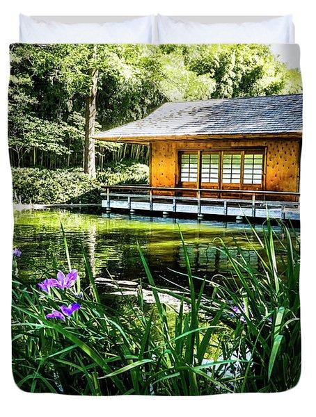 Japanese Gardens II Duvet Cover