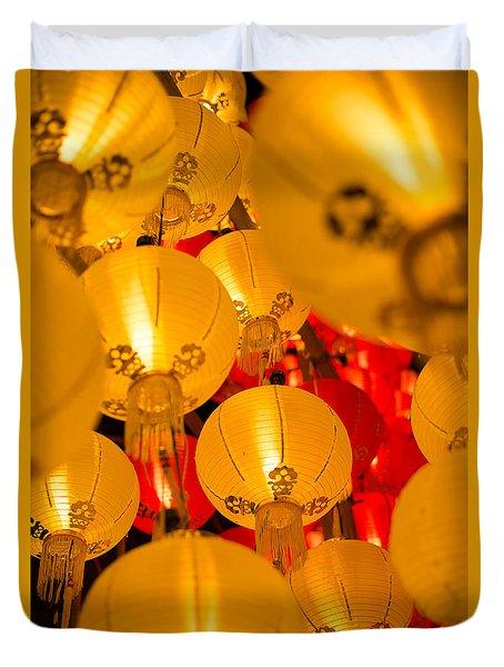Japanese Lantern 3 Duvet Cover