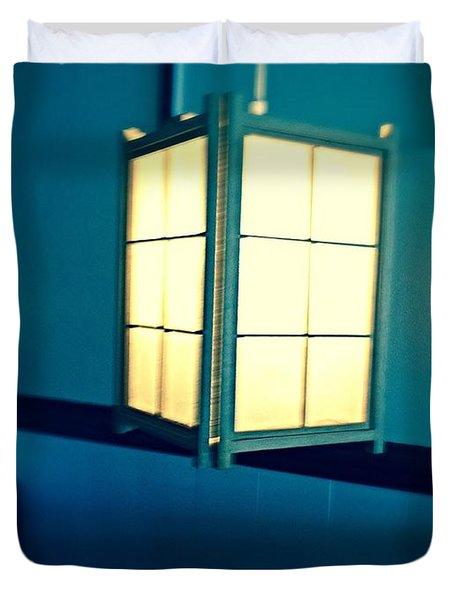 Japanese Lantern  Duvet Cover by Alohi Fujimoto