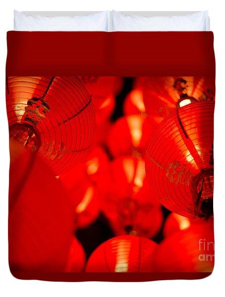 Japanese Lanterns 6 Duvet Cover