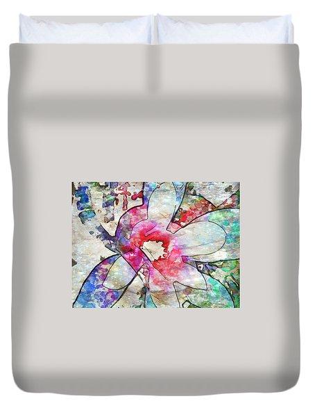 Japanese Magnolia  Duvet Cover