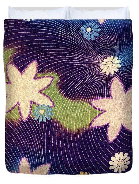 Japanese Maple Modern Interior Art Painting. Duvet Cover