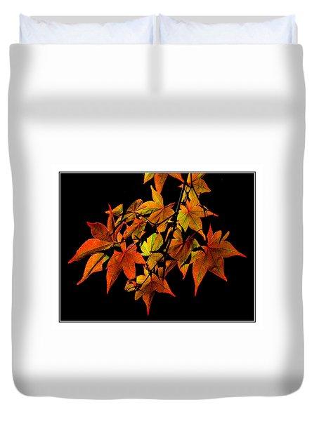 Japanese Maple Duvet Cover