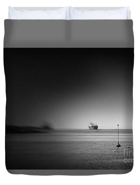Japanese Sea #2292 Duvet Cover