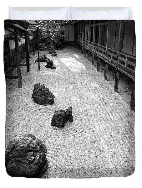 Japanese Zen Garden Duvet Cover