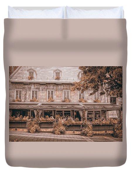 Jardin Nelson - Vintage Image Duvet Cover