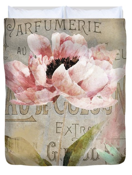 Jardin Rouge I Duvet Cover
