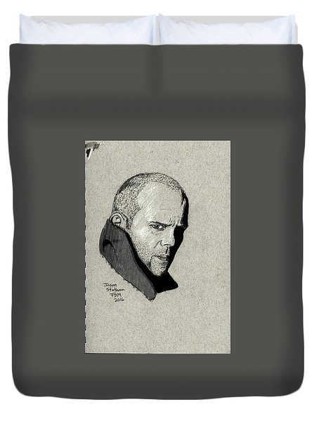 Jason Statham Duvet Cover