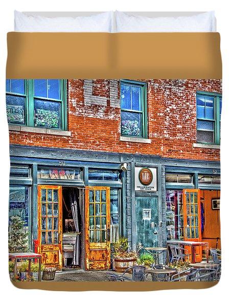 Java House Duvet Cover