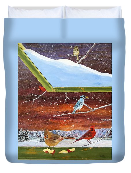 Jay Don't Wait  Duvet Cover