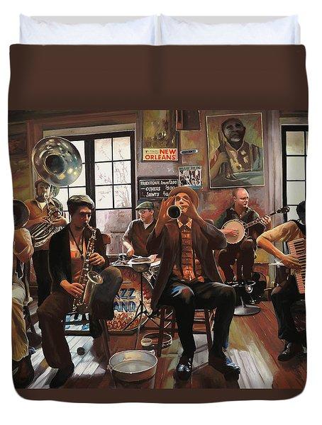 Jazz A 7 Duvet Cover