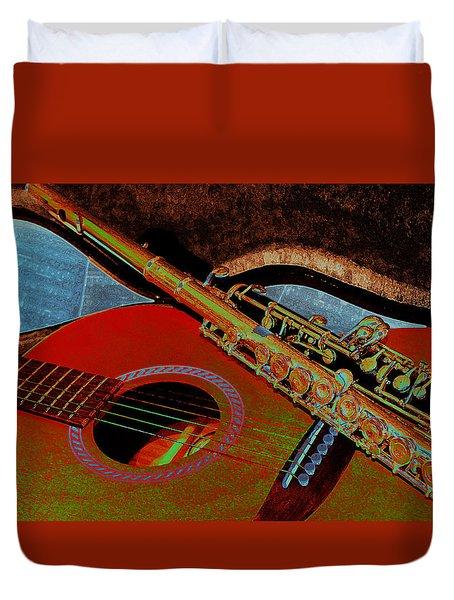 Jazz Band Duvet Cover