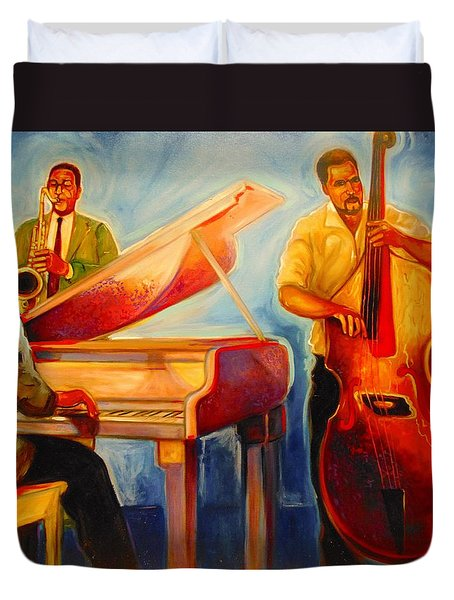 Jazz Night Duvet Cover