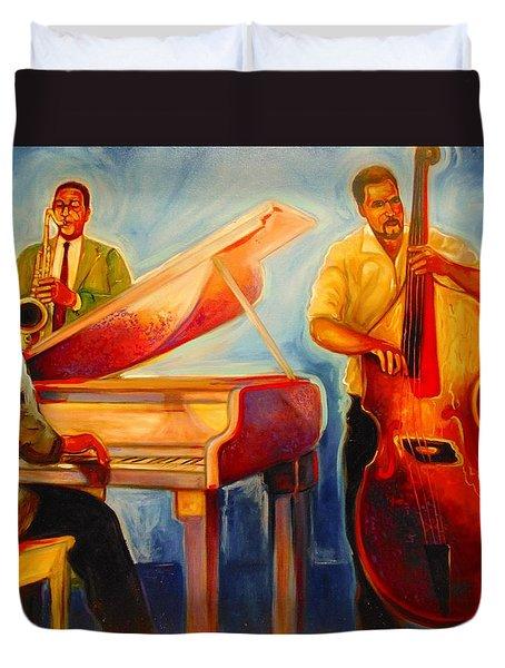 Jazz Night Duvet Cover
