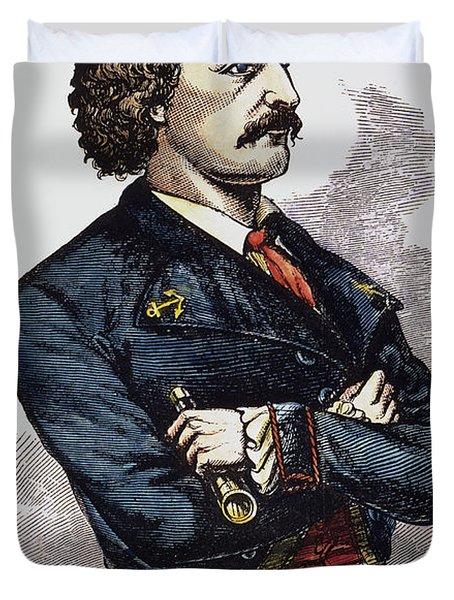 Jean Lafitte (c1780-c1826) Duvet Cover