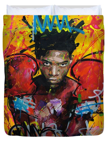 Jean-michel Basquiat Duvet Cover