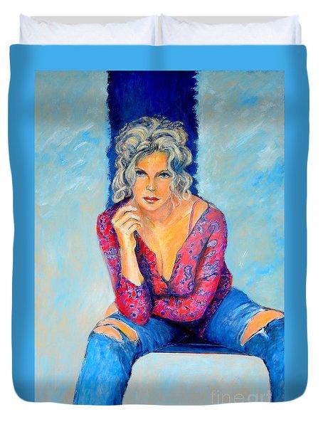 Jeans II Duvet Cover