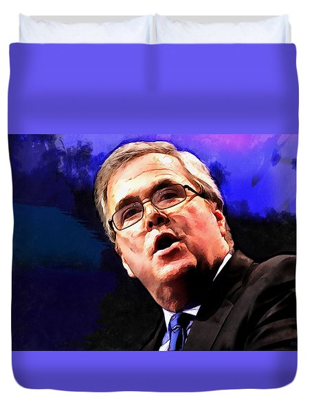 Jeb Bush Duvet Cover