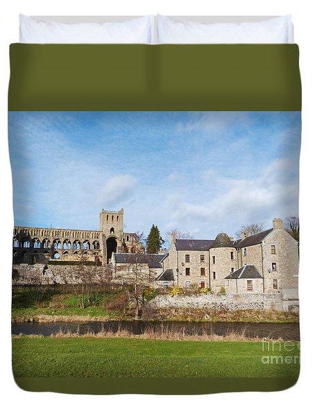 Jedburgh Abbey Duvet Cover