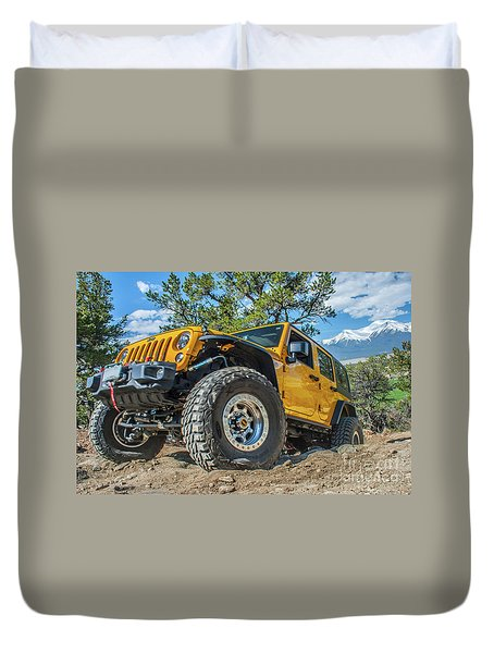 Jeep Life Duvet Cover