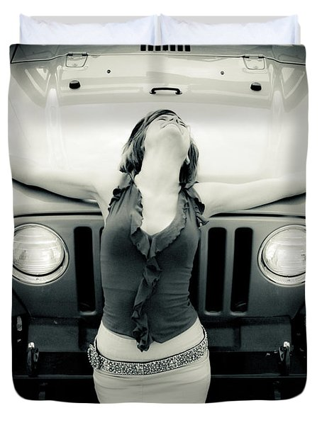 Jeep Duvet Cover