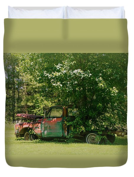 Jeferson Landing Series No.2 Duvet Cover by Laura DAddona