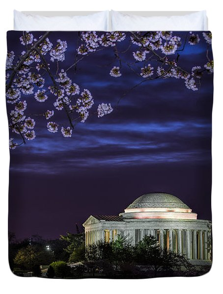 Jefferson Cherry Sunrise Duvet Cover