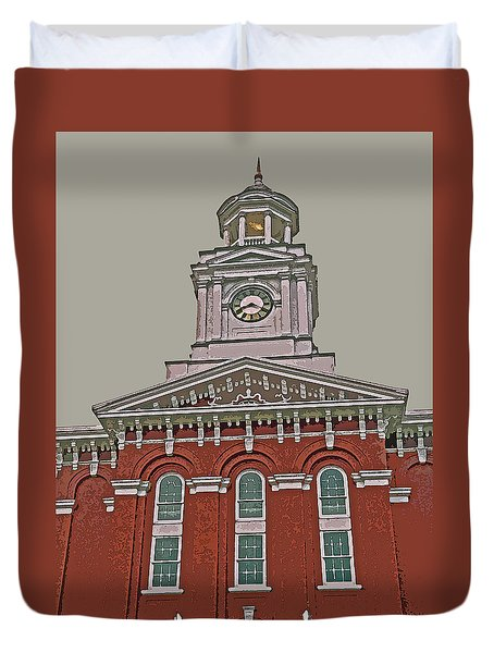 Jefferson County Courthouse Duvet Cover