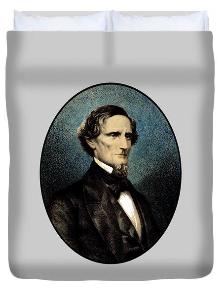 Jefferson Davis Duvet Cover by War Is Hell Store