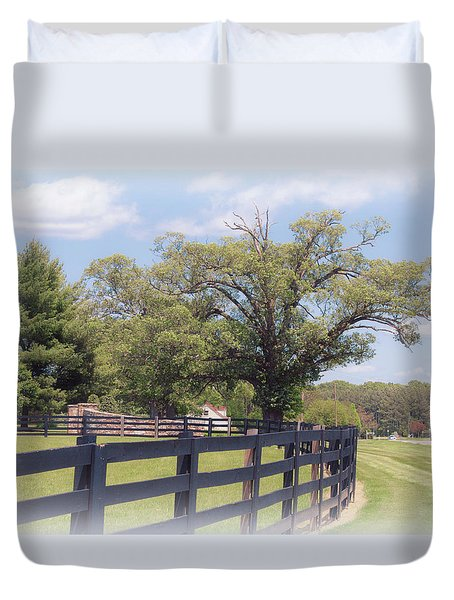 Jefferson Landing Series No. 1 Duvet Cover by Laura DAddona