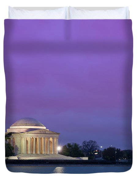 Jefferson Monument Duvet Cover