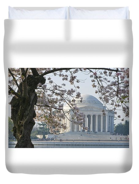 Jefferson Morning Duvet Cover